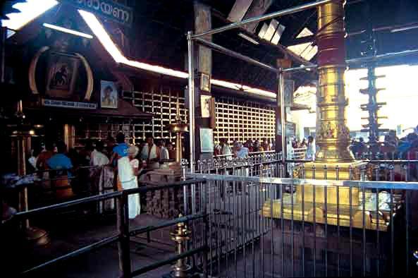 Inside Guruvayoor Temple