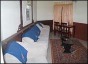 another view of the room at Chandana Herbal Cottages