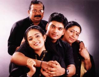 Kavya Madhavan Family