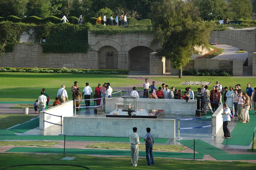 The place where Mahatma was laid to rest