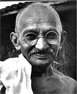 Mahatma Gandhi, father of the Indian Nation