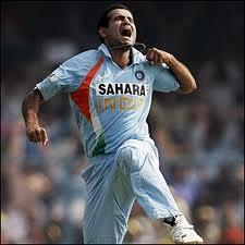Pathan as bowler