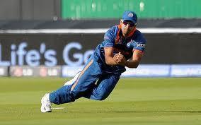 Pathan as fielder