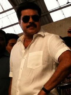 mammootty the train