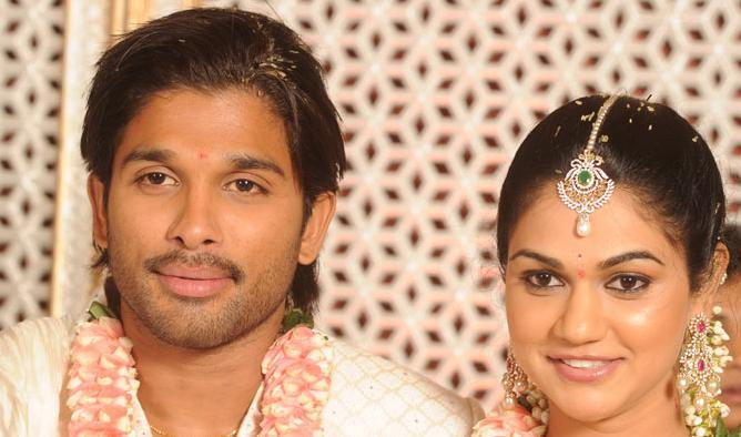 Sneha Reddy With allu