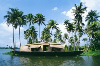 Backwaters in Kuttanad