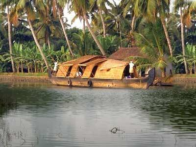 Backwaters in Kumarakom
