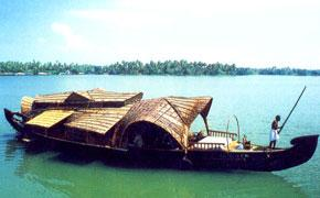 Backwaters in Ashtamudi