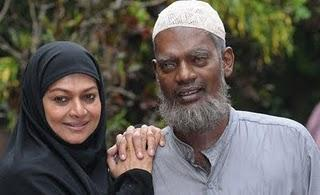 Salim Kumar and Zareena Wahab in Adaminte Makan Abu