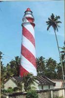 Thangasseri beach lighthouse