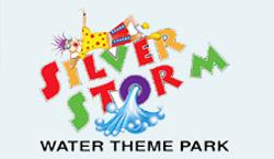 Silver Storm Water Theme Park Logo