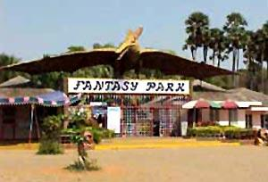 Fantasy park entrance