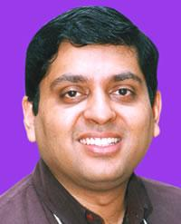 Sudhakar Jayaram , CEO of AMrita TV