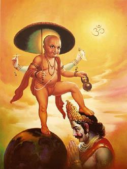 Mahabali and Vamana