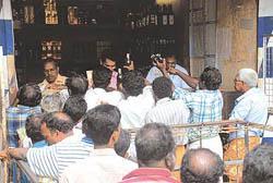 Liquor shops in Kerala