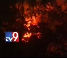 Fire Near Padmanabha Swamy Temple