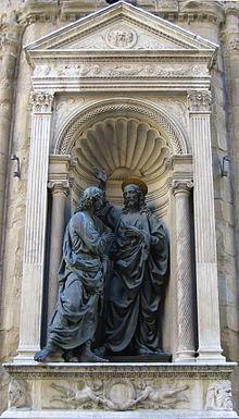Christ & St Thomas