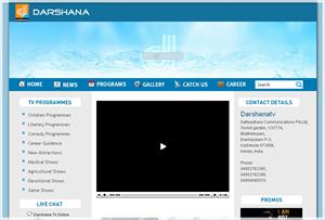 Darshana TV Channel Website