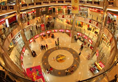 Oberon Mall- interior