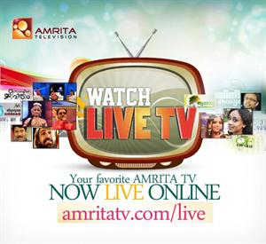 Watch Amrita TV online streaming live on PC