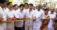 Emmanual Silks Kottayam Inaguration by Mammotty and Mohanlal