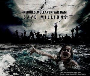 Save Mullaperiyaar Dam Poster