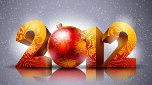 Happy New Year 2012 Facebook Scraps and Greeting Cards