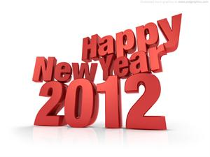 Happy New Year 2012 Google Plus Scraps and Greeting Cards