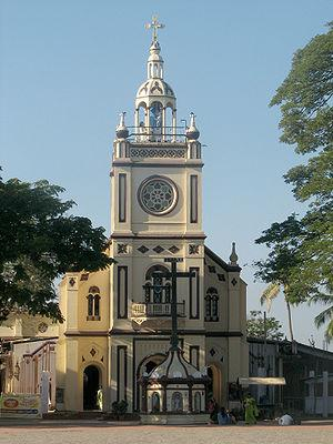 Vallarpadam Basilica –tourist attraction and a pilgrimage destination of Cochin