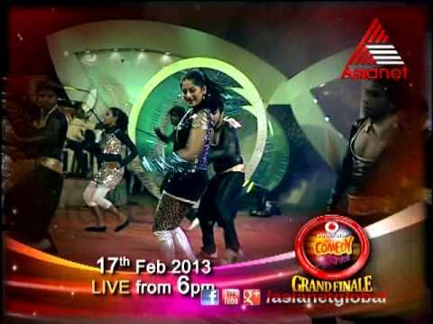 Vodafone Comedy stars grand finale live on Asianet