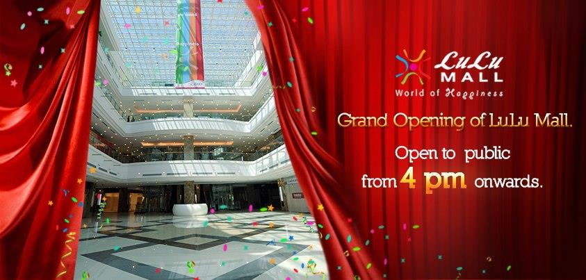 Lulu International Shopping Mall Cochin Inauguration on 10th March 2013