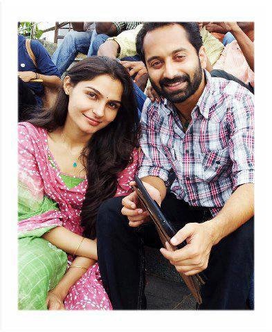 Fahad Fasil - Andrea Jeremiah off screen love affair now public