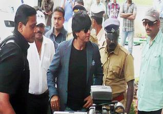 Sharukh Khan in Munnar for Chennai Express shooting