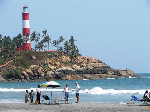 Kovalam beach, Trivandrum