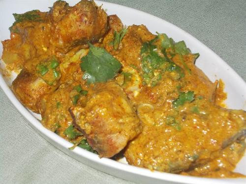 Fish Masala Bake