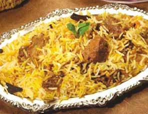 Ancient type Mutton Biriyani