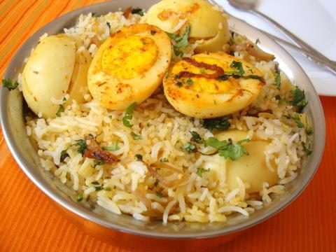 Kerala special egg biriyani