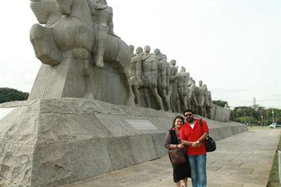 Mohanlal in Brazil enjoying holidays with his family