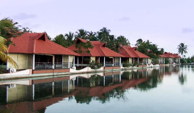 Lake Palace in Kerala