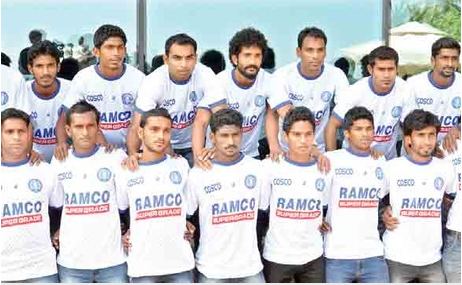 Kerala squad for 68th Santosh Trophy football tournament 2014