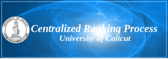 Calicut University centralized ranking process (CRP) 2014 online registration to commence soon