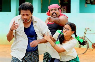 Otta Mandaram Malayalam Movie - Anguish of a young girl on screen