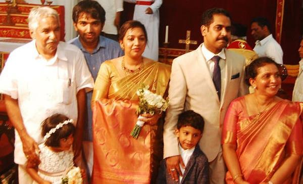 Oommen Chandys daughter Maria Oommen Marriage Photos