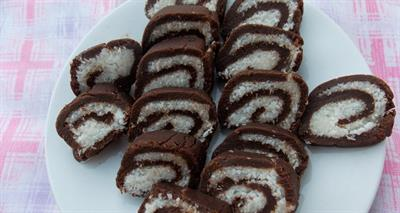 Delicious chocolate roller coaster