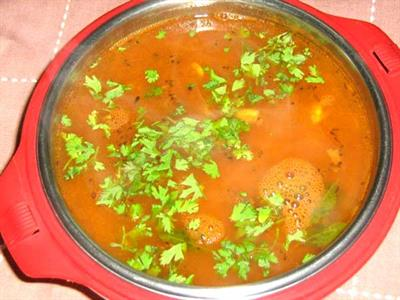 Rasam - ingredients and preparation