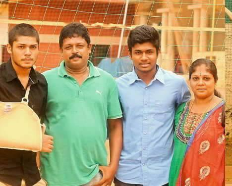 Sanju V Samson Family, Parents - Father, Mother, Brother