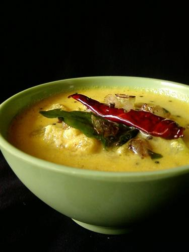 Onam Pulissery Recipe and Preparation Method 2014