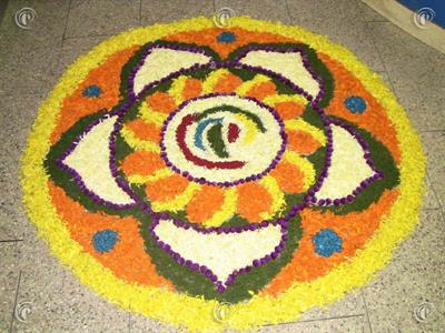 Top six pookkalam designs.