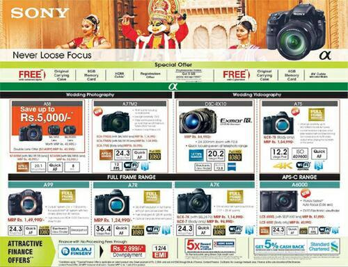 Sony Onam Offers 2014 - Latest Offers and Contact Details