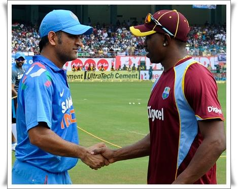 India vs West Indies 2014 Kochi 1st ODI Live Streaming Websites and TV Channels
